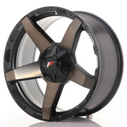 JR Wheels JRX5 20x9 ET20 6x139.7 Titanium Black
