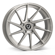 18x8.0 5x112 ET45 Cades Kratos High Power Silver