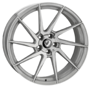 Cades Kratos Brushed Silver 20x9.0 5x112 ET22