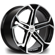Riviera Atlas 20x8.5 5x120 72.6 45 Black Polished