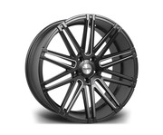 Riviera Rv120 22x10.5 5x120 Et42 74.1 Matt Black Milled