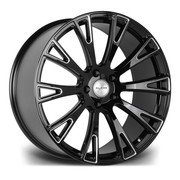 Riviera Rv150 22x10 5x120 Et 35 74.1 Gloss Black Milled Edge