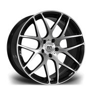 Riviera Rv170 19x9.5 5x112 72.6 42 Black Polished