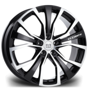 Riviera Ultimate 18x8.5 5x120 72.6 45 Black Polished