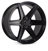 Hawke Ridge Matt Black 20x9.0 6x139 ET30