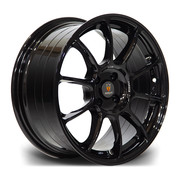 Stuttgart Sf1 17x8 4x100 Et35 73.1 Gloss Black