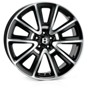 SSR Black Full Polish R13 20x9.0 5x112 ET30