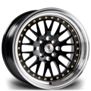 Stuttgart St5 16x9 4x100 Et25 73.1 Gold Polished Lip