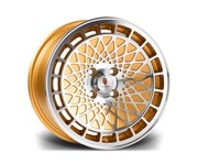 Stuttgart St7 15x8 4x100 73.1 25 Gold Polished