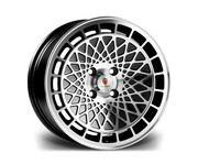 Stuttgart St7 16x8 4x100 74.1 20 Black Polished