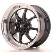 Japan Racing TF2 15x7,5 ET30 4x100/108 Gloss Black