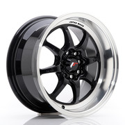 JR Wheels TF2 15x7,5 ET10 4x100/114 Gloss Black