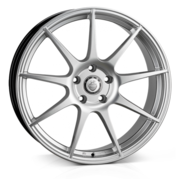 Cades Tora High Power Silver 18x8.0 5x112 ET45