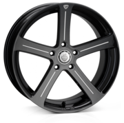 Cades Apollo Accent Black 19x8.5 5x120 ET38