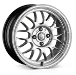 Cades Eros High Power Silver 15x6.5 4x100 ET30