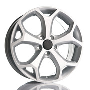 Fit for Ford Kinect Silver 18x8 ET43 5x108