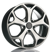 Fit for Ford Kinect HyperBlack 17x7.5 ET45 5x108