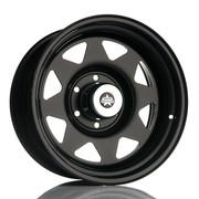 Jack Wheeler Rocky AT Matt Black 17x8 ET-20 6x139.7