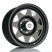 Jack Wheeler Rocky AT Matt Black 17x8 ET30 6x139.7