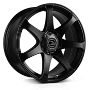 Hawke Peak Matt Black 20x9.0 6x114 ET35