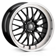Cades Tyrus Black Lip Polish 19x8.5 5x112 ET45
