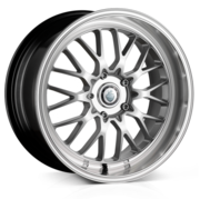 Cades Tyrus High Power Silver 17x7.0 4x100 ET40
