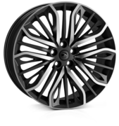 Hawke Vega Black Polished 20x9.0 5x120 ET42