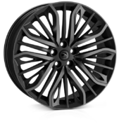 Hawke Vega Flow Formed Black Shadow 22x9.5 5x120 ET35