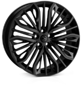 Hawke Vega Flow Formed Jet Black 22x9.5 5x120 ET35