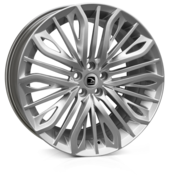 Hawke Vega Flow Formed Power Silver 22x9.5 5x120 ET35