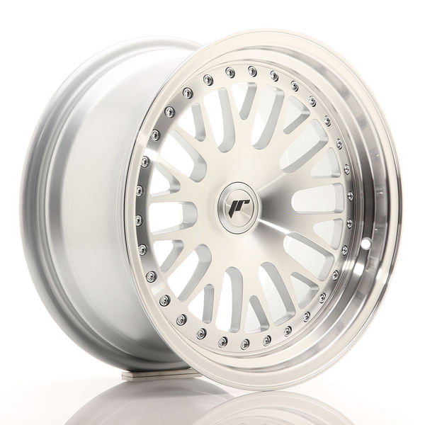 JR Wheels JR10 16x8 ET20 BLANK Silver Machined Face