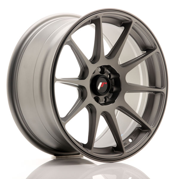 JR Wheels JR11 17x8,25 ET25 4x100/108 Matt Gun Metal