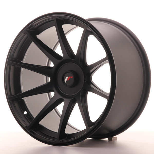 Japan Racing JR11 18x10,5 ET22 Blank Flat Black