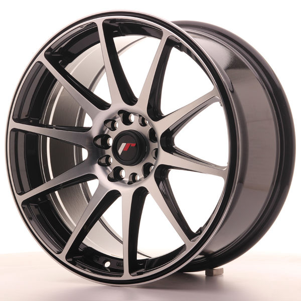 Japan Racing JR11 18x8,5 ET40 5x112/114 Black Mach