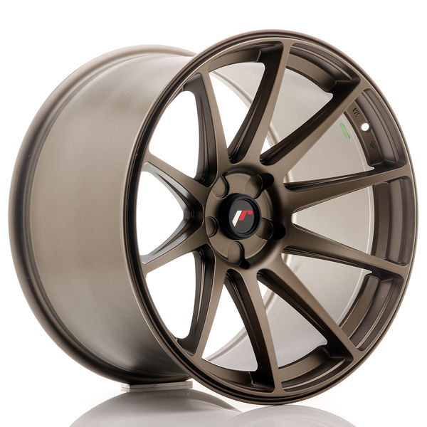 JR Wheels JR11 19x11 ET25 5H BLANK Bronze