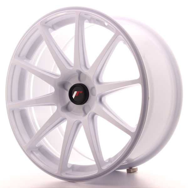 Japan Racing JR11 19x8,5 ET35-40 5H Blank White