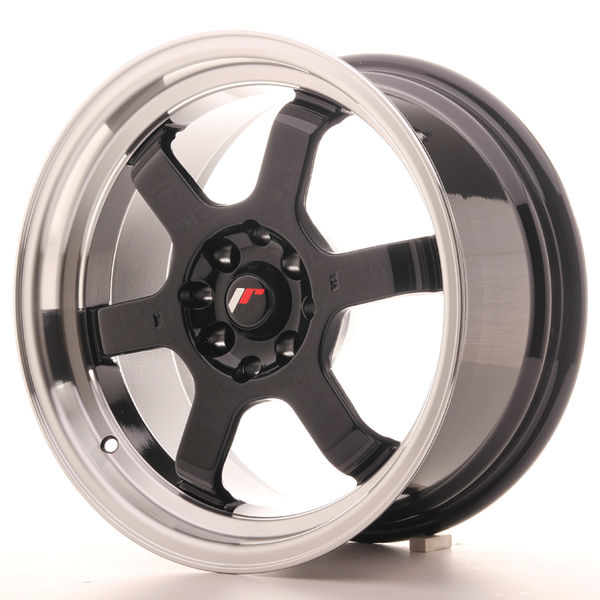 Japan Racing JR12 16x8 ET15 4x100/114 Gloss Black