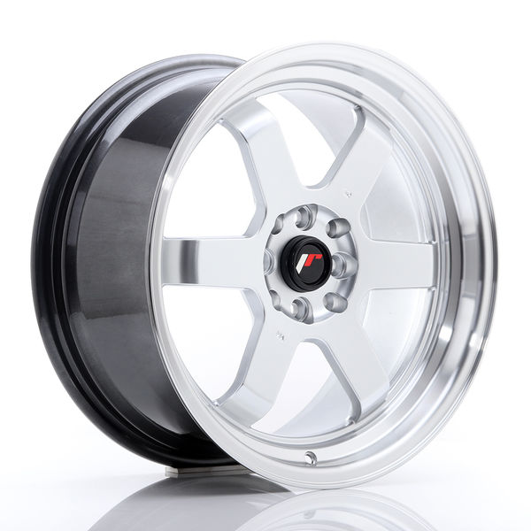 JR Wheels JR12 17x8 ET35 5x112/120 Hyper Silver w/Machined Lip