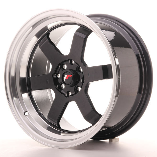 Japan Racing JR12 17x9 ET25 5x100/114 Gloss Black