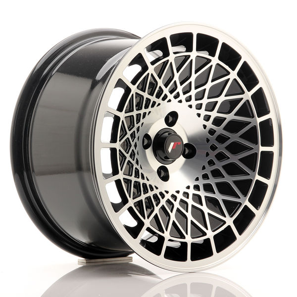 JR Wheels JR14 16x9 ET10 4x100 Gloss Black w/Machined Face