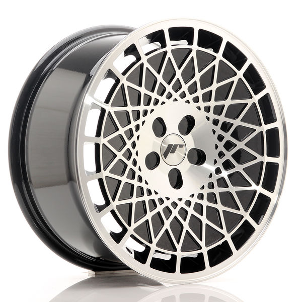 JR Wheels JR14 18x8,5 ET35-40 5H BLANK Gloss Black w/Machined Face