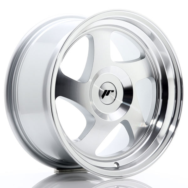 JR Wheels JR15 16x8 ET25 BLANK Silver Machined Face