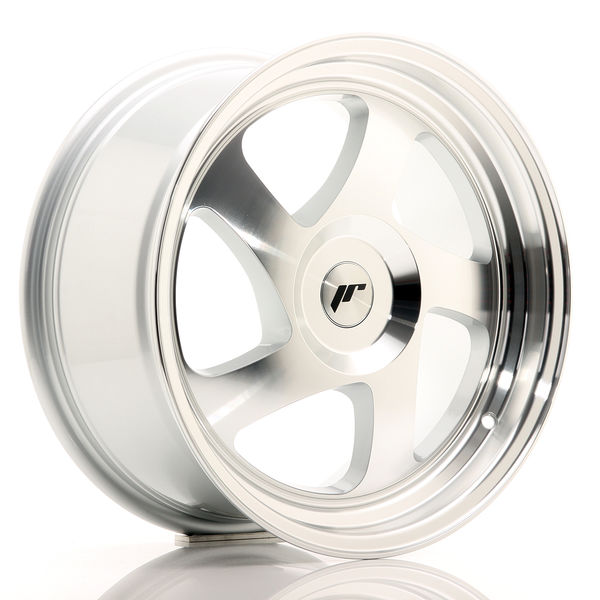 JR Wheels JR15 17x8 ET35 BLANK Silver Machined Face