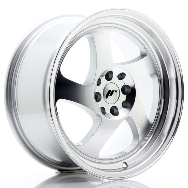 JR Wheels JR15 17x8 ET35 5x108/112 Silver Machined Face