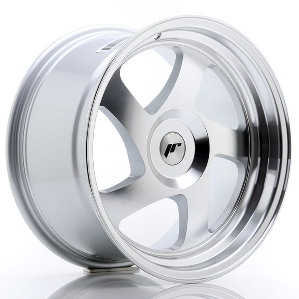 JR Wheels JR15 17x9 ET25 BLANK Silver Machined Face