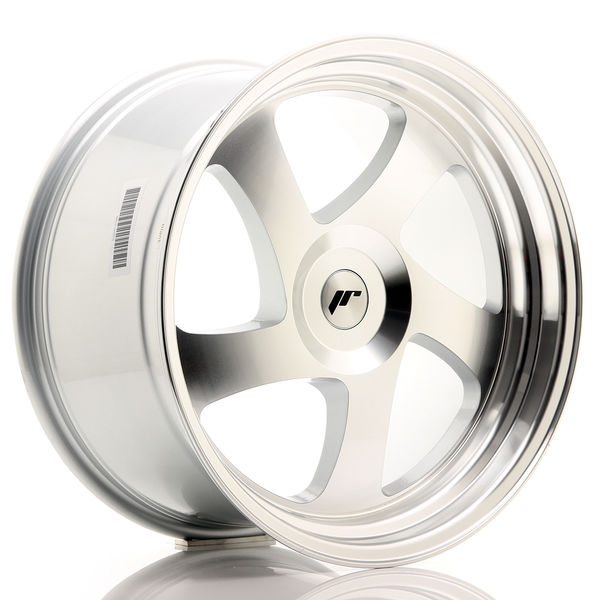 JR Wheels JR15 19x10 ET35 BLANK Silver Machined Face