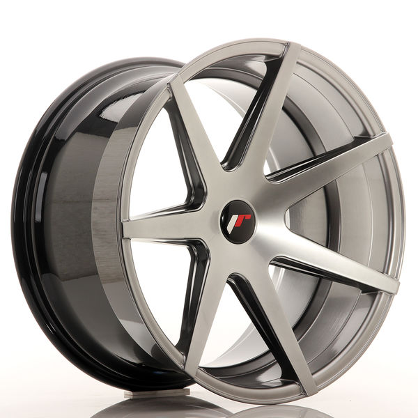 JR Wheels JR20 20x11 ET20-30 5H BLANK Hyper Black