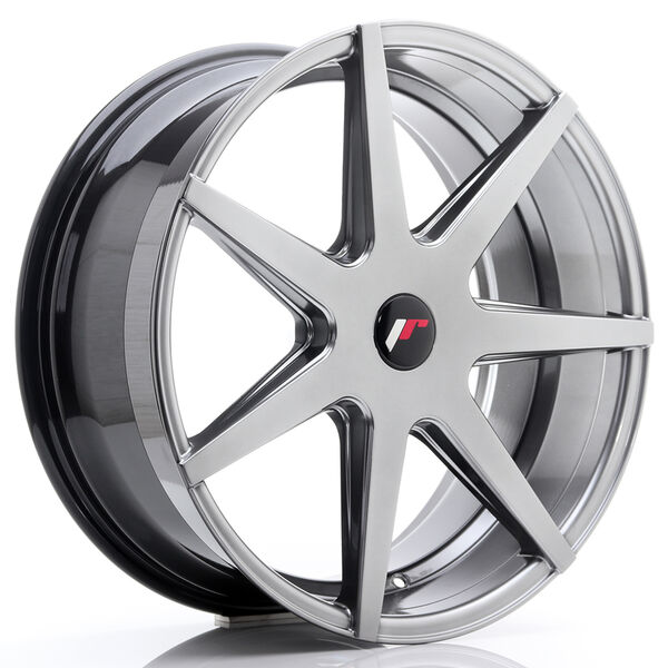 JR Wheels JR20 20x8,5 ET20-40 5H BLANK Hyper Black