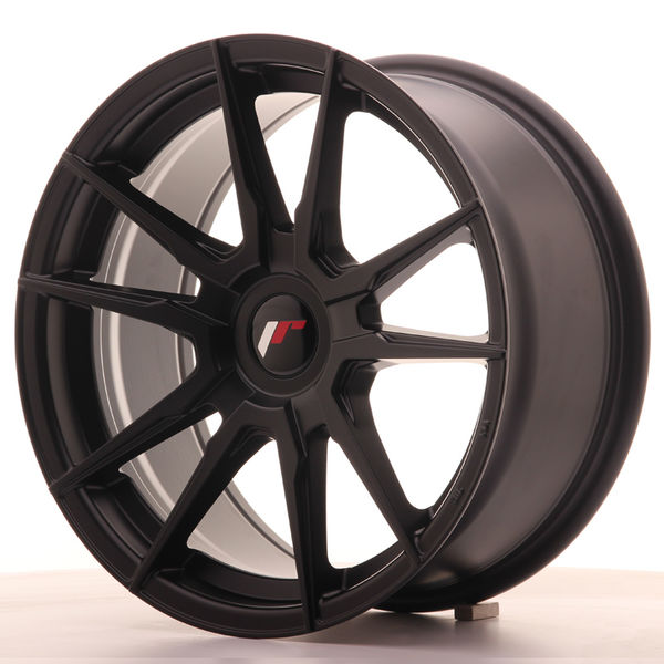JR Wheels JR21 17x8 ET35 BLANK Matt Black