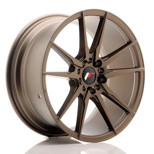 JR Wheels JR21 18x8,5 ET40 5x112/114 Matt Bronze